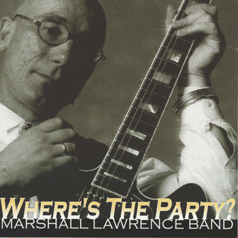 Where's the Party CD Cover
