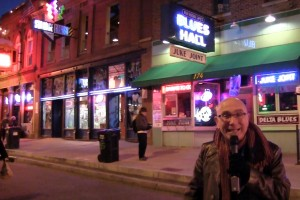 Marshall on Beale Street