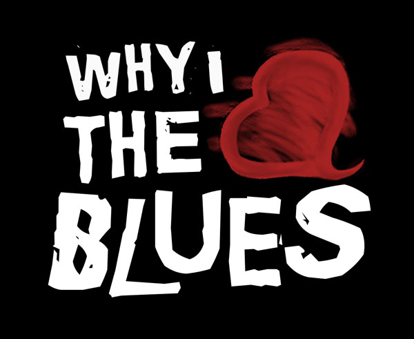 Why I Love The Blues Logo